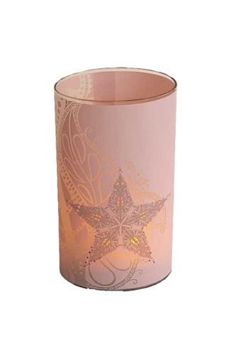 candle lights - soft pink - large
