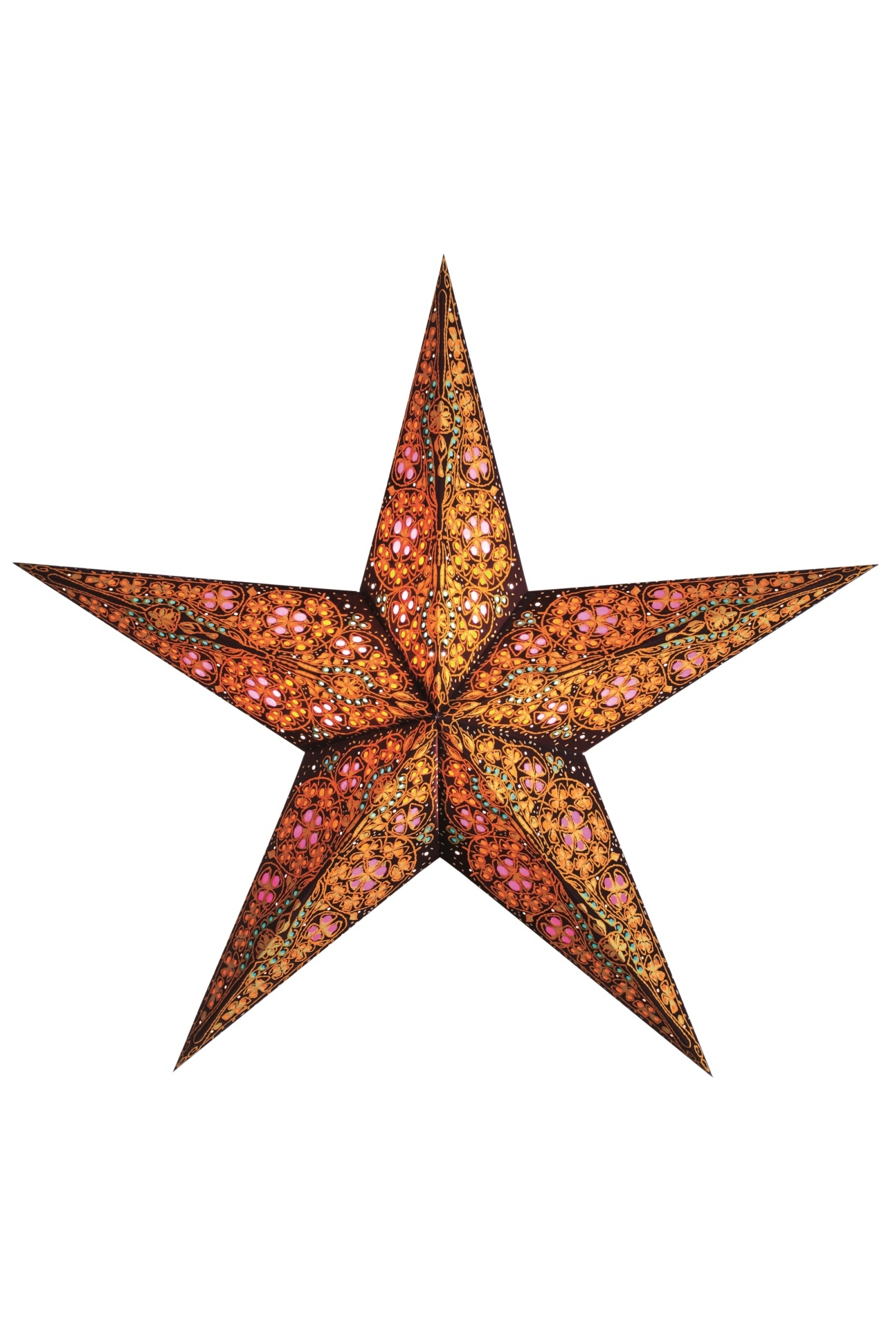 earth friendly starlightz  designer lamps  paper stars  - starlightz