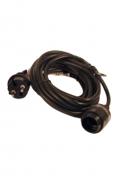 outdoor powercord (E27,  Schuko plug)