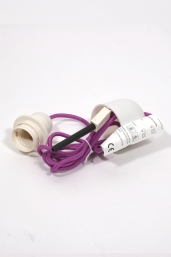 textile power cord set m2 - violet